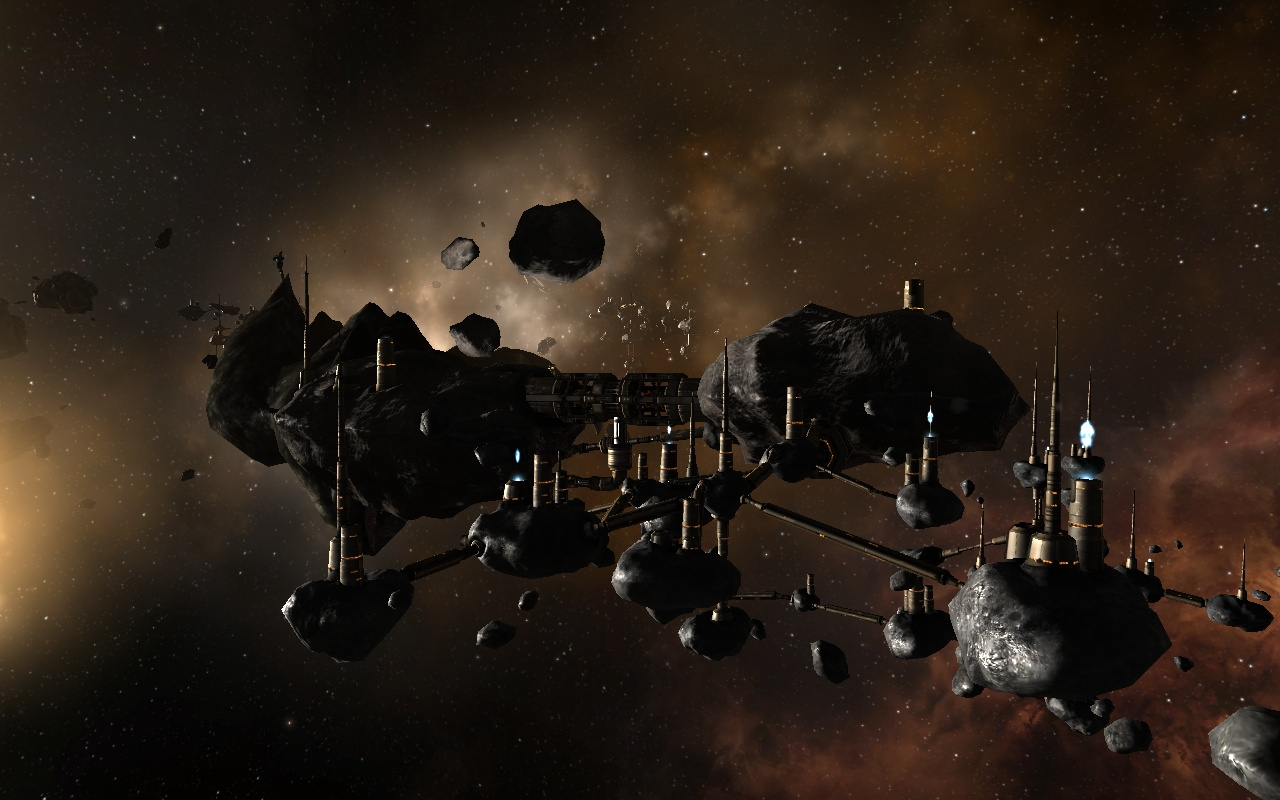 Asteroid Colony - Pics about space